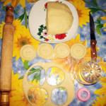 Вырезаем вкусное печенье на сметане