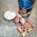 Ингредиенты для домашних пончиков