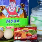 Ингредиенты для дрожжевых булочек с корицей