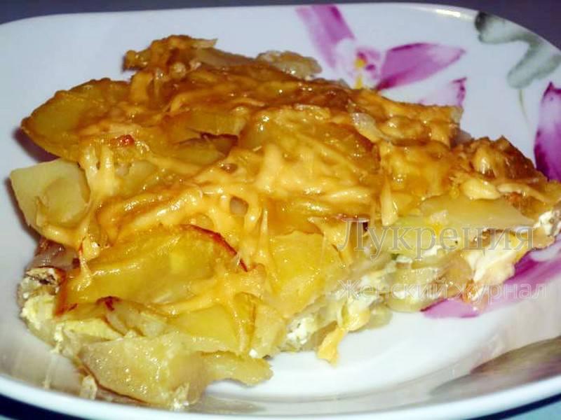 рецепт фото запеканка картофельная