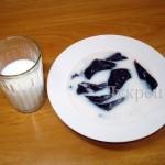 Замоченная в молоке печень