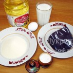 Продукты для приготовления телячьей печени